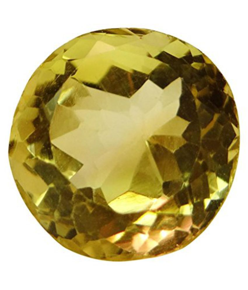 5.41 ct. / 6.01 Ratti Natural & Certified CITRINE (SUNHELLA) BIRTHSTONE BY ARIHANT GEMS & JEWELS BY ARIH...