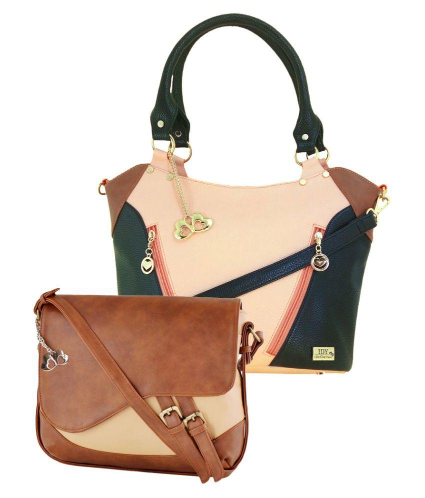 I Define You Multi P.U. Shoulder Bag