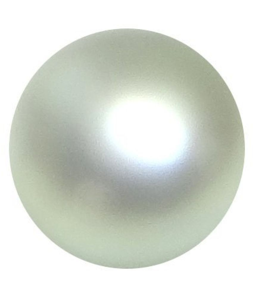 PEARL 6.8 ct. / 7.56 Ratti PURE & IIGS CERTIFIED PEARL (MOTI) ASTROLOGICAL BIRTHSTONE BY ARIHANT GEMS AND JEWELS