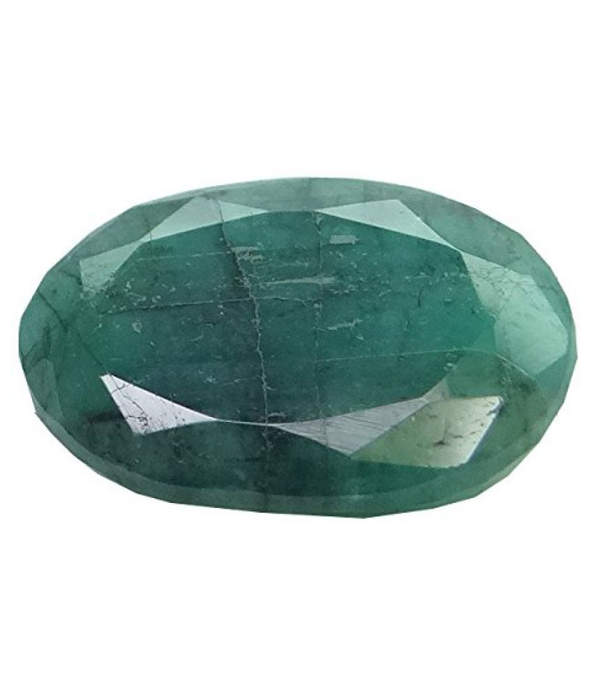EMERALD PANNA 4.4 ct. / 4.89 Ratti PURE & IIGS CERTIFIED EMERALD (PANNA) ASTROLOGICAL GEMSTONE BY ARIHANT GEMS & JEWELS