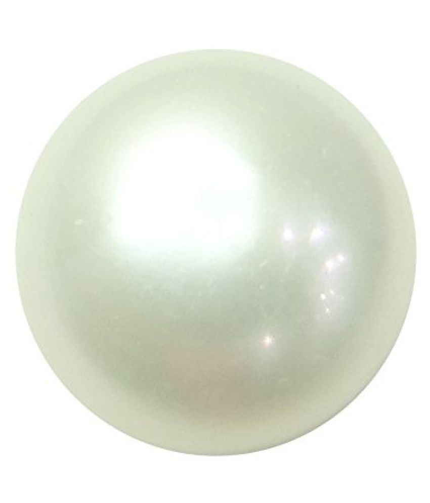 PEARL 6.95 ct. / 7.72 Ratti PURE & IIGS CERTIFIED PEARL (MOTI) ASTROLOGICAL BIRTHSTONE BY ARIHANT GEMS AND JEWELS