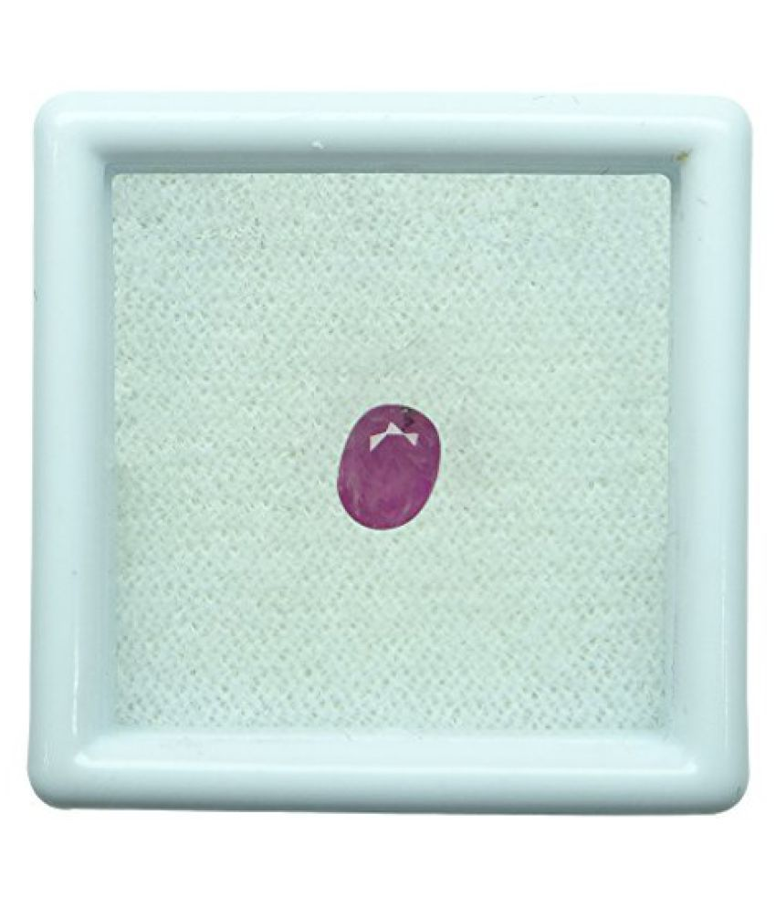 0.80 ct. / 0.89 Ratti BURMESE NATURAL & IIGS CERTIFIED RUBY (MANIK) ASTROLOGI...