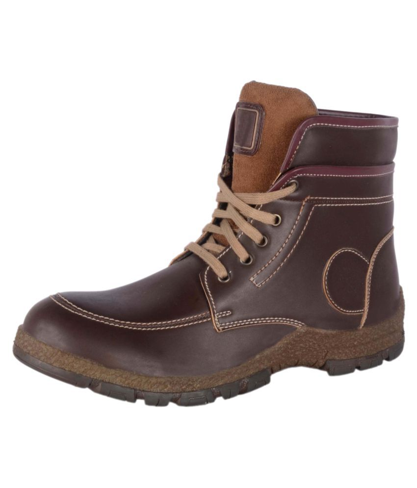 Franklien Brown Casual Boot