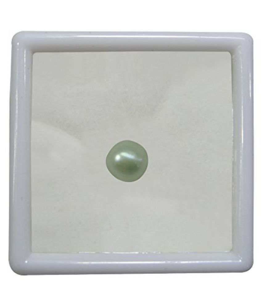 PEARL 7.74 ct. / 8.6 Ratti PURE & IIGS CERTIFIED PEARL (MOTI) ASTROLOGICAL BIRTHSTONE BY ARIHANT GEMS AND JEWELS