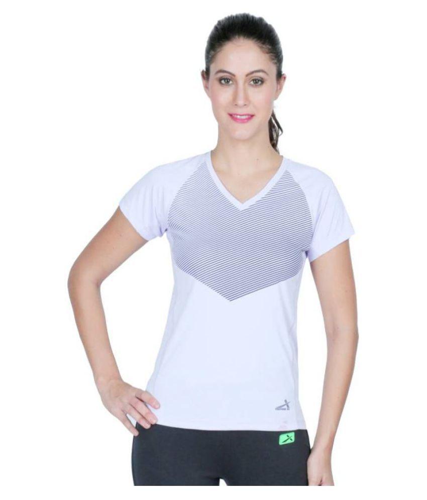 Vector X White/Grey T-Shirt