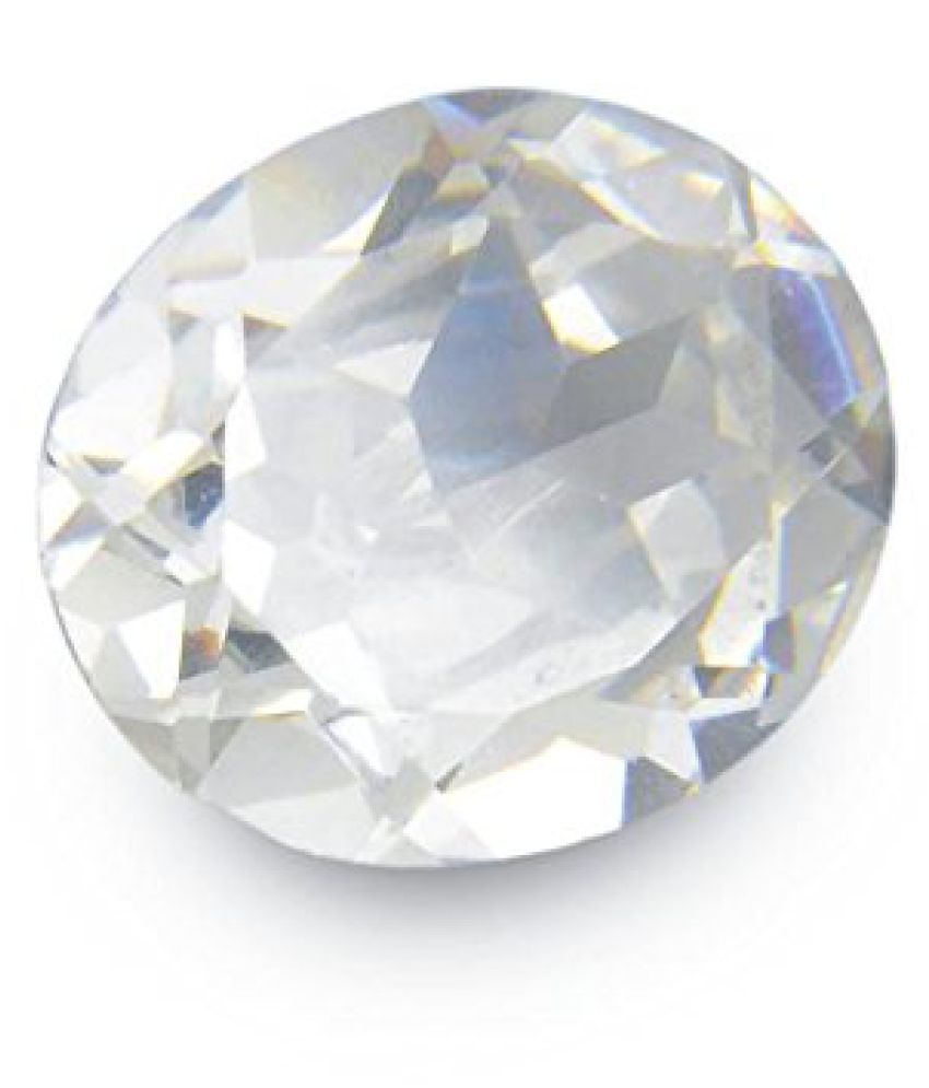 9.25 Ratti Diamond Cut Zircon Natural Birthstone GLI Certified
