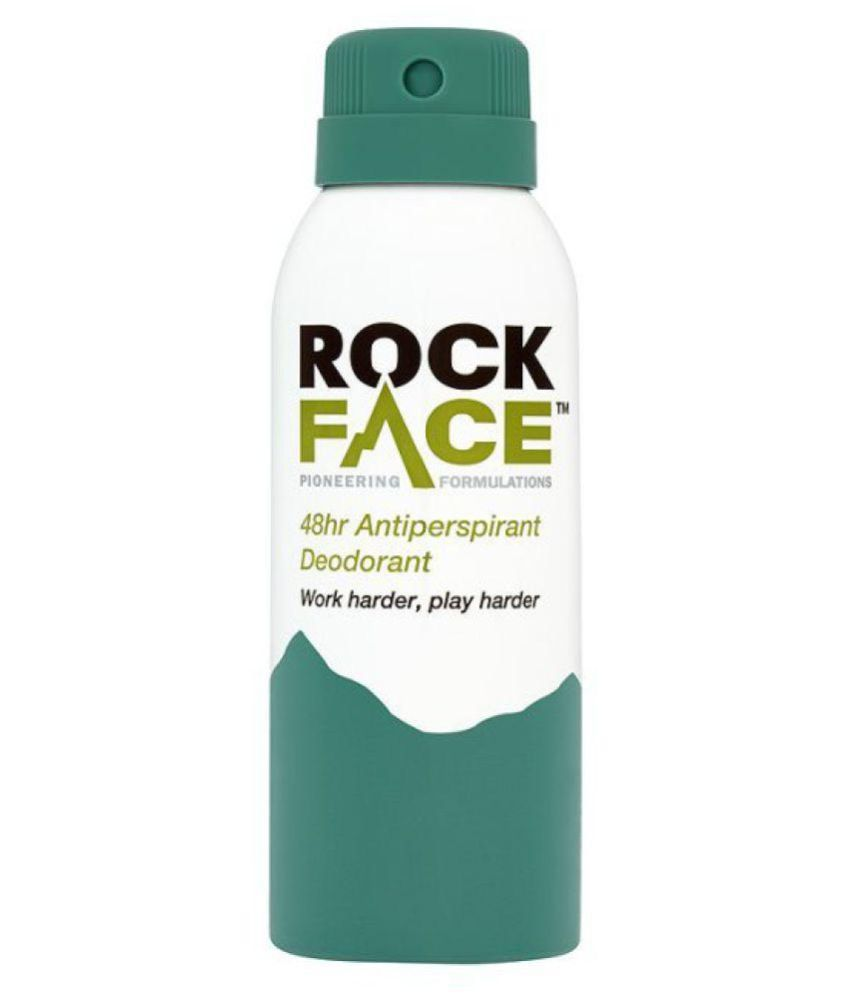 Rock Face long time Anti Perspirant Deodorant (Work Harder, play Harder)