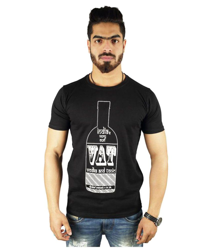 Vimanika Black Round T-Shirt