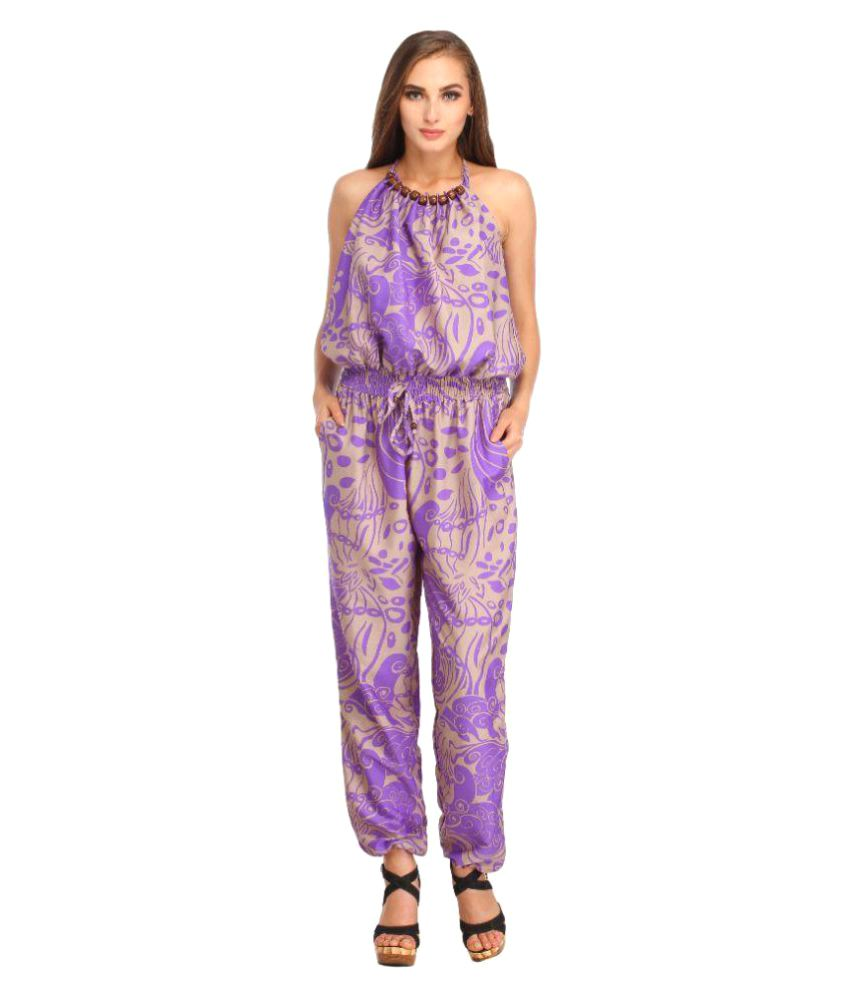 Entease Crepe Jumpsuits