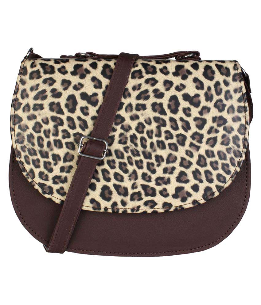 Freya Multi P.U. Sling Bag