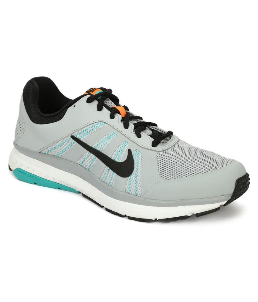 b7f0b3bb12f Nike DART 12 MSL Gray Running Shoes - Buy Nike DART 12 MSL Gray Running  Shoes Online at Best Prices in India on Snapdeal