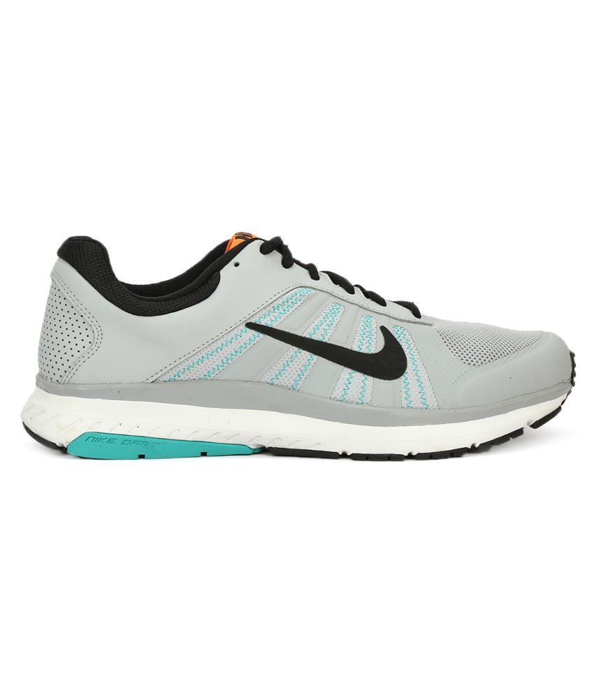 038b8f25e98 Nike DART 12 MSL Gray Running Shoes - Buy Nike DART 12 MSL Gray ...