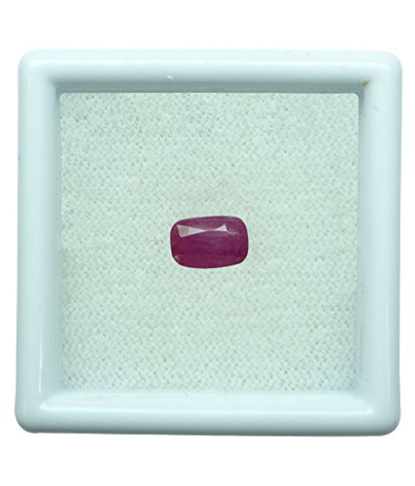 1.27 ct. / 1.41 Ratti BURMESE NATURAL & IIGS CERTIFIED RUBY (MANIK) ASTROLOGI...