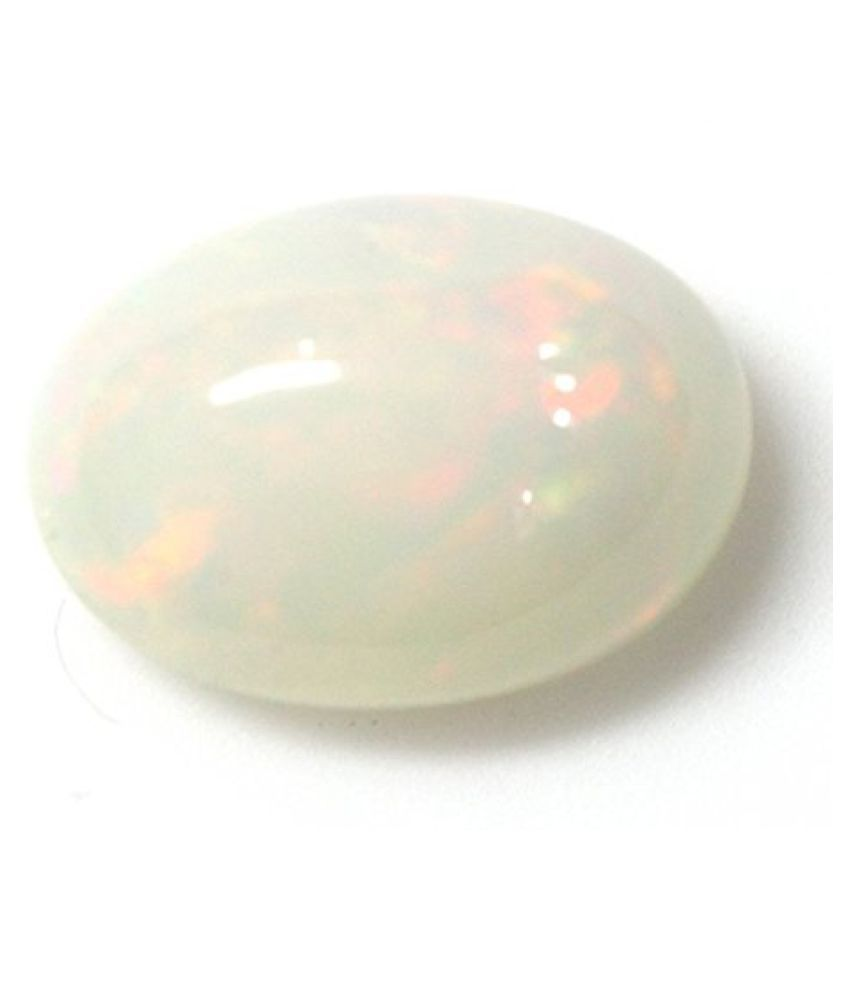 LOOSE 100% NATURAL & CERTIFIED 4.05 ct. OPAL BIRTHSTONE BY ARIHANT GEMS & JEWELS