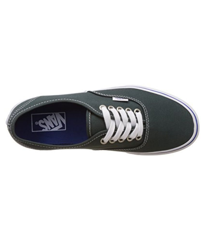 ... Vans Unisex Authentic Green Gables and True White Sneakers - 6 UK India  (39 ... 441c21dba