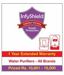 InfyShield 1 Year Extended Warranty on Water Purifiers