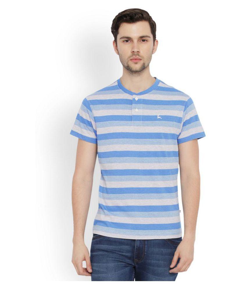 Parx Multi Henley T-Shirt