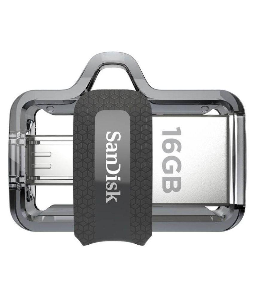 SanDisk SDDD3-016G 16GB USB 3.0 OTG Pendrive