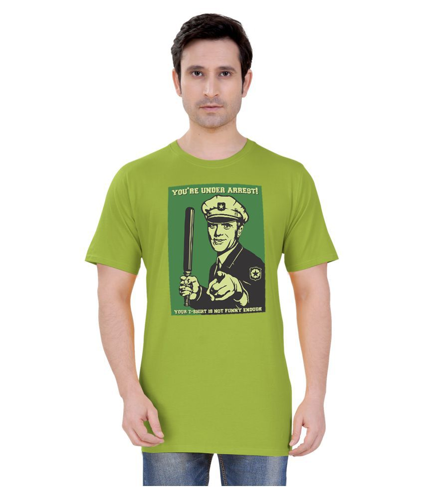 Tantra Green Round T-Shirt