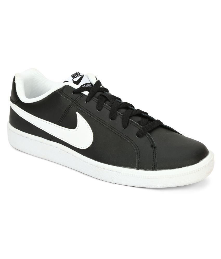 Nike Court Royale Black Tennis Shoes