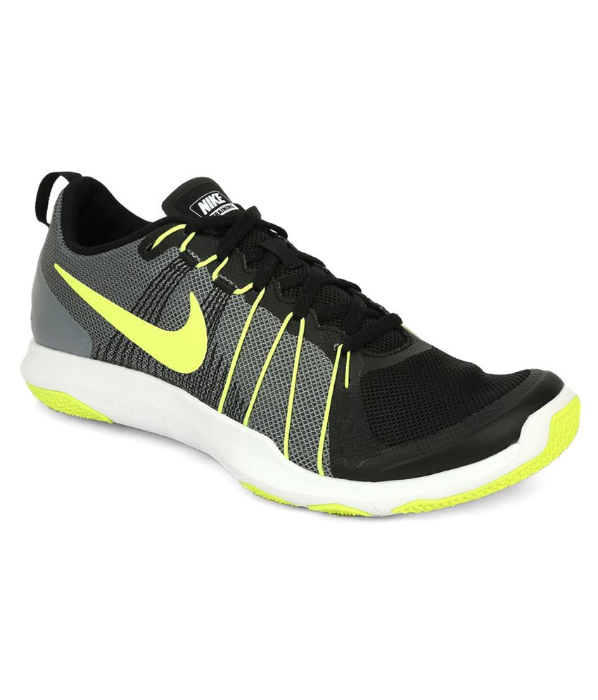 Nike Flex Train Aver Black Running Shoes - Buy Nike Flex Train Aver Black  Running Shoes Online at Best Prices in India on Snapdeal 21ba773f7