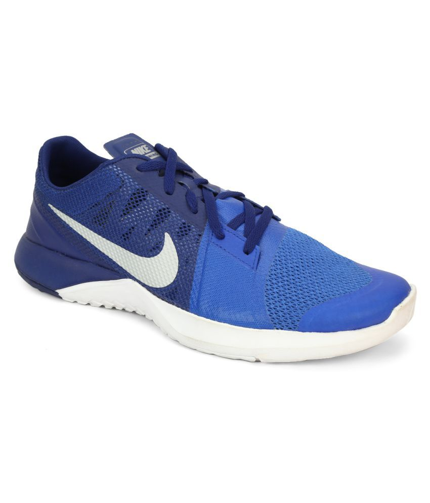 db26c28935e Nike FS Lite Trainer 3 Blue Running Shoes available at SnapDeal for Rs.5095