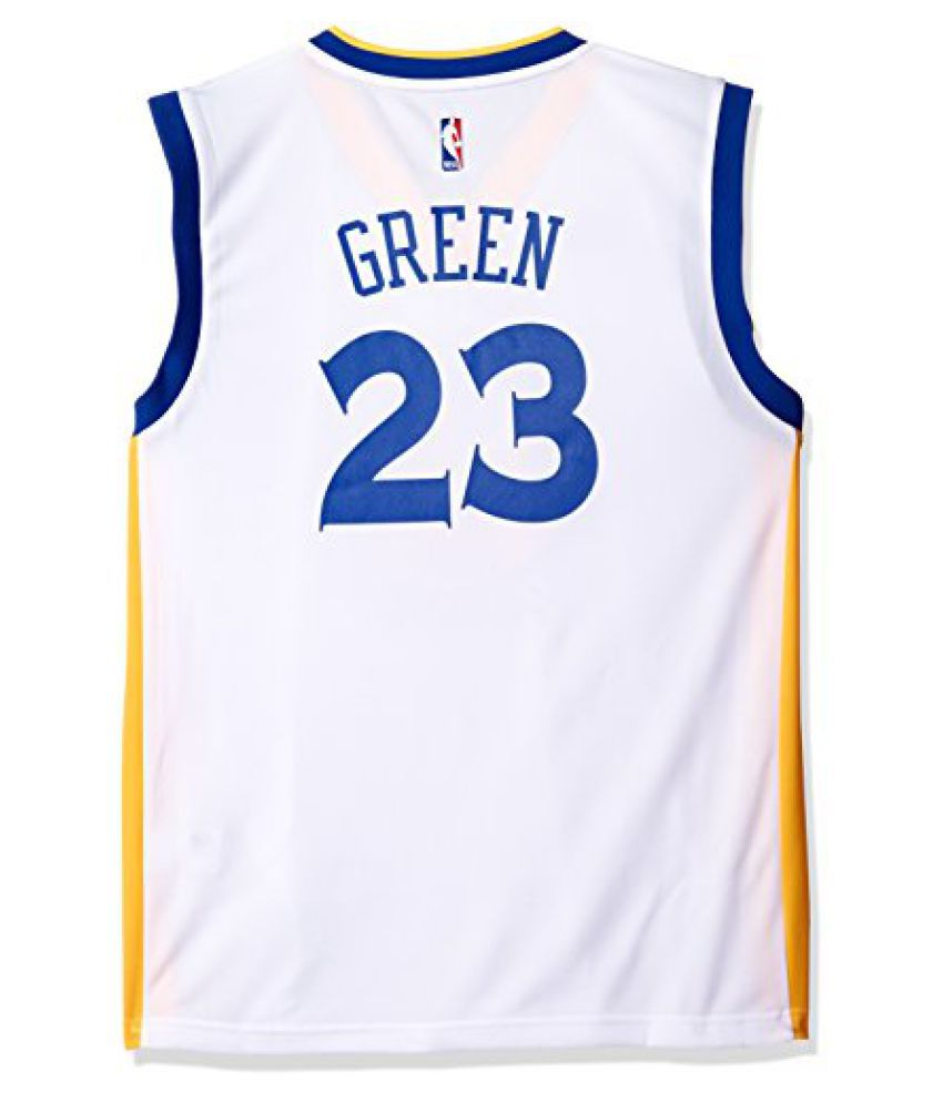 NBA Golden State Warriors Draymond Green  23 Men s Replica Home Jersey 5552f0566