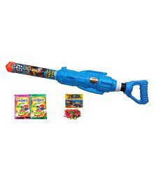Darling Toys Rocket Launcher Holi Water Gun Pichkari Pipe With 2 Herbal Gulal And Water Balloon