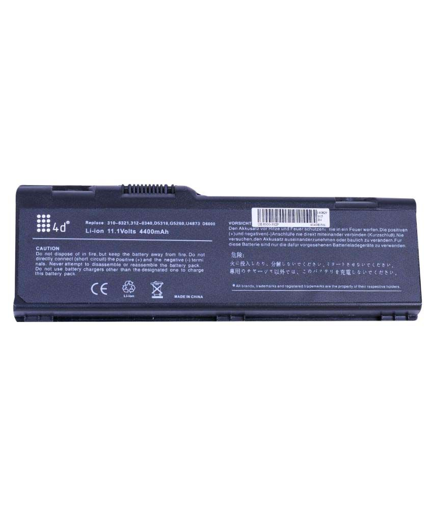 4D Impex Laptop Battery Compatible for Dell INSP-F5635-6CLB