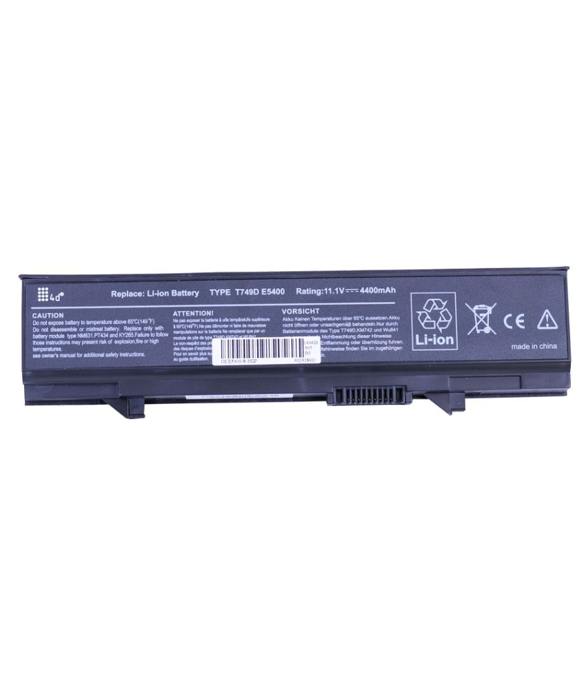 4D Impex Laptop battery Compatible For Dell LATD-KM769-6CLB