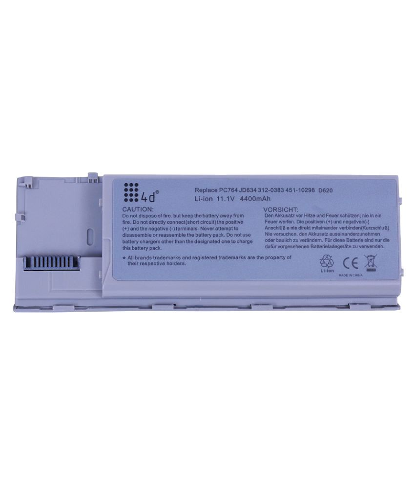 4d Impex Laptop battery Compatible For Dell LATD-GD787-6CLB