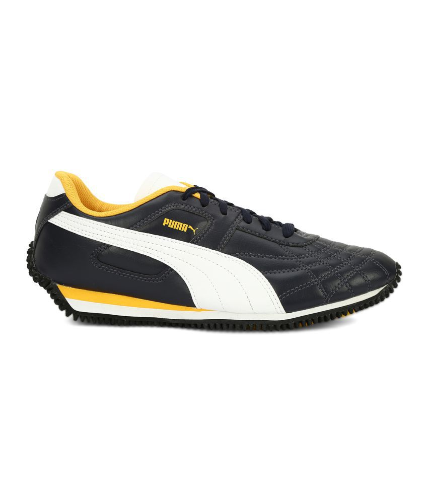 ... Puma Mexico DP Navy Casual Shoes ... d94d37710
