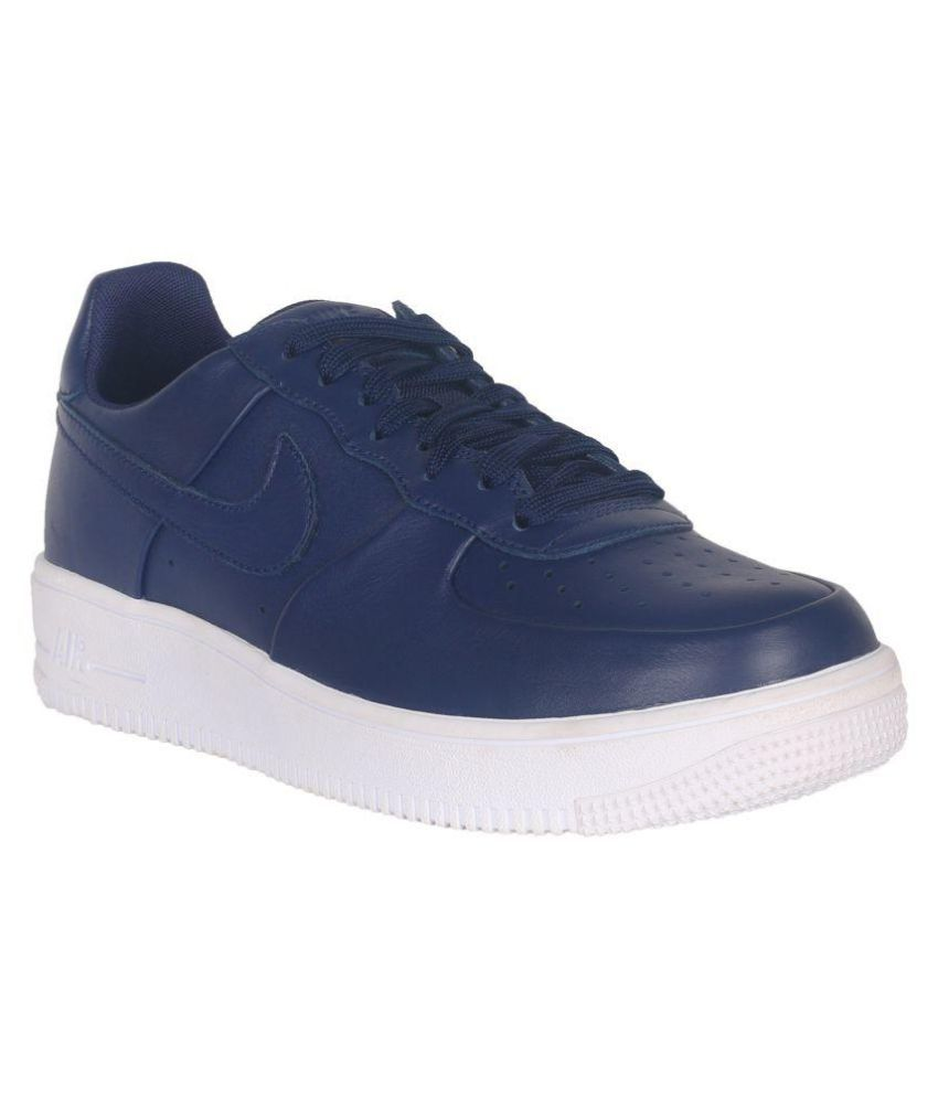 Nike Air Force 1 Ultraforce Leather Blue Casual Shoes