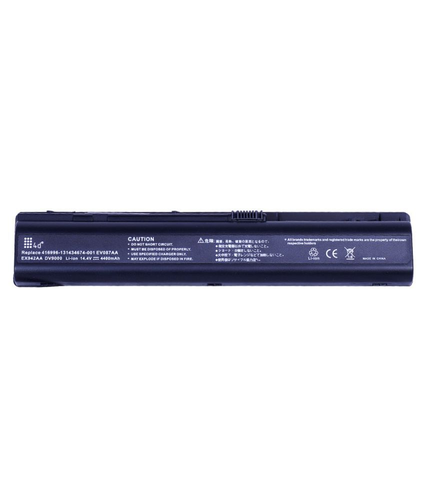 4d Impex Laptop battery Compatible For HP 4d-HP-DV9804TX-6CLB