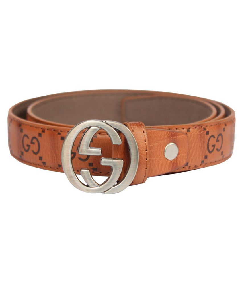 Winsome Deal Beige Faux Leather Casual Belts