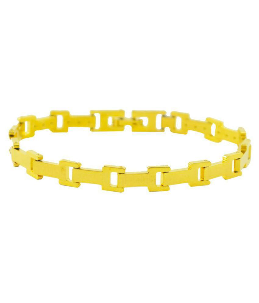Alpha Man Gold Bracelet