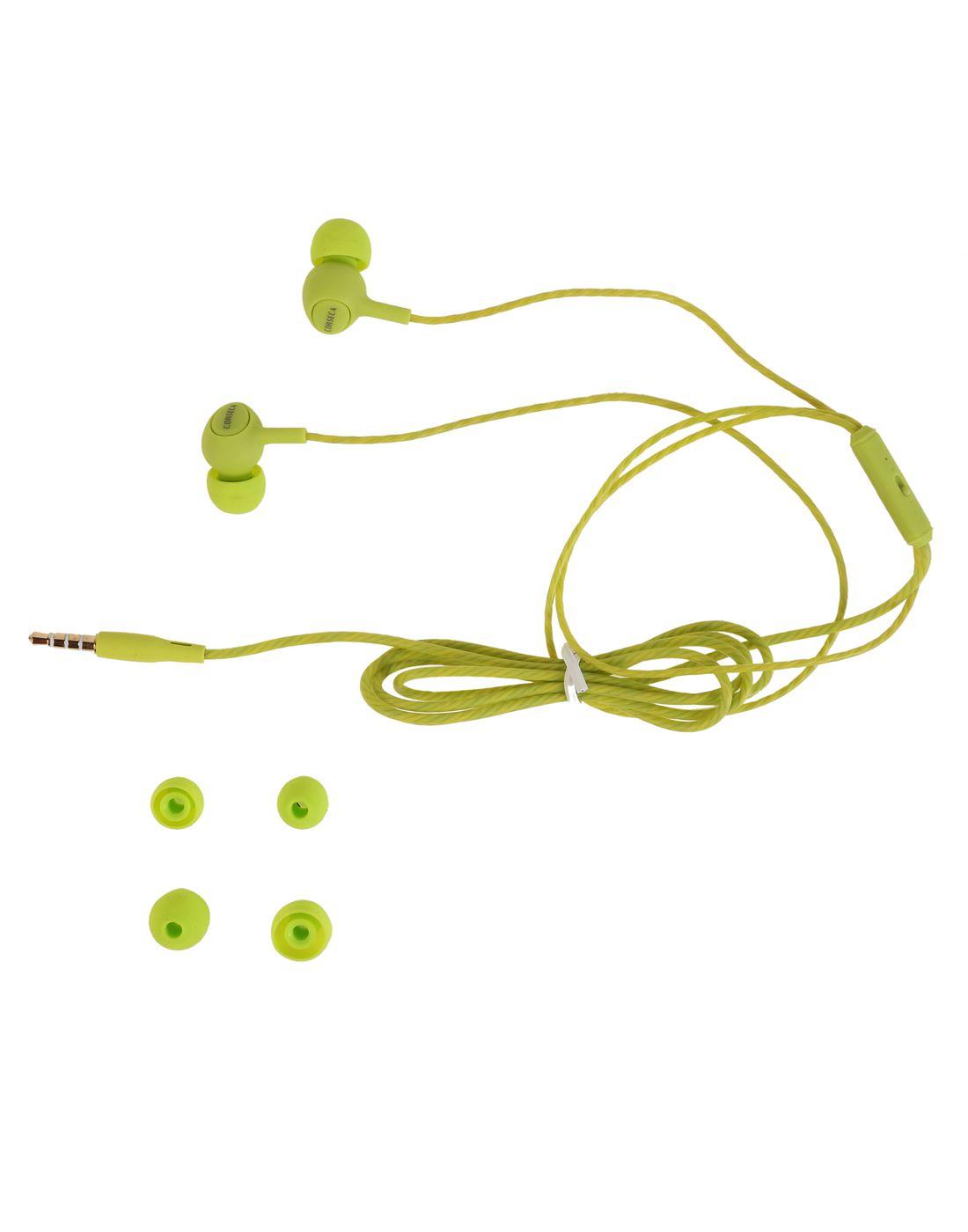ec3b78d4e12 Corseca DMHF0027 In Ear Wired Earphones With Mic Green - Buy Corseca ...