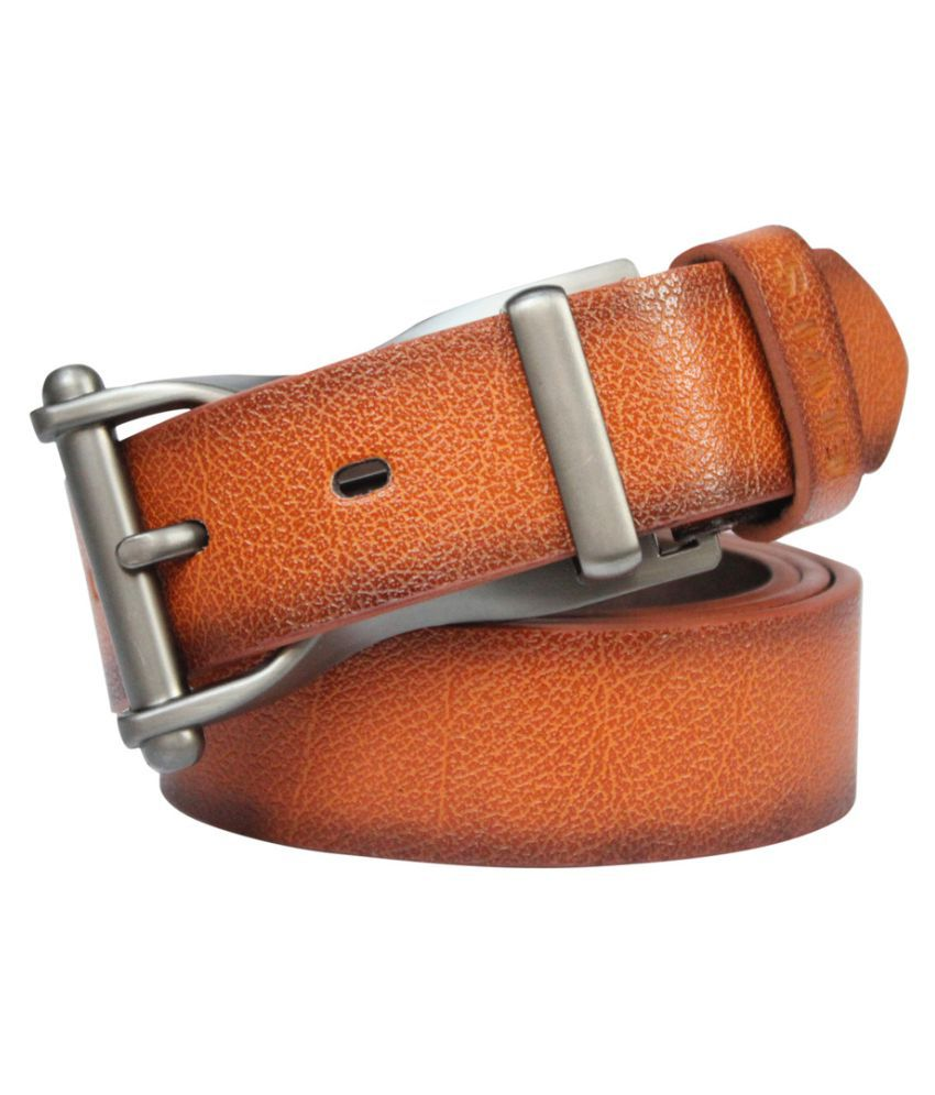 Bacchus Beige Faux Leather Casual Belts