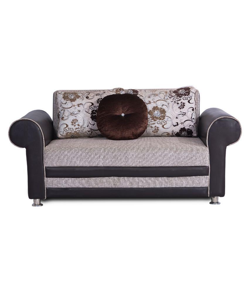 Bharat Lifestyle Alex Fabric 3 2 Diwan Sofa Set Buy