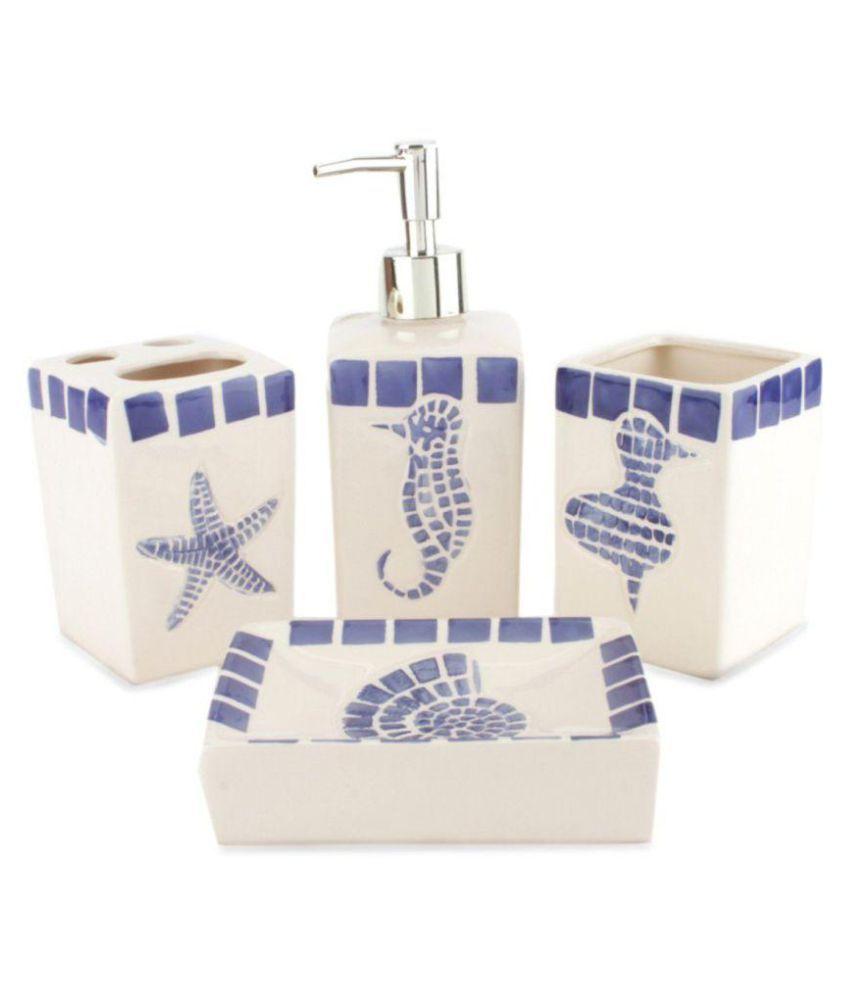 Chrome Ceramic Bath Set Online At