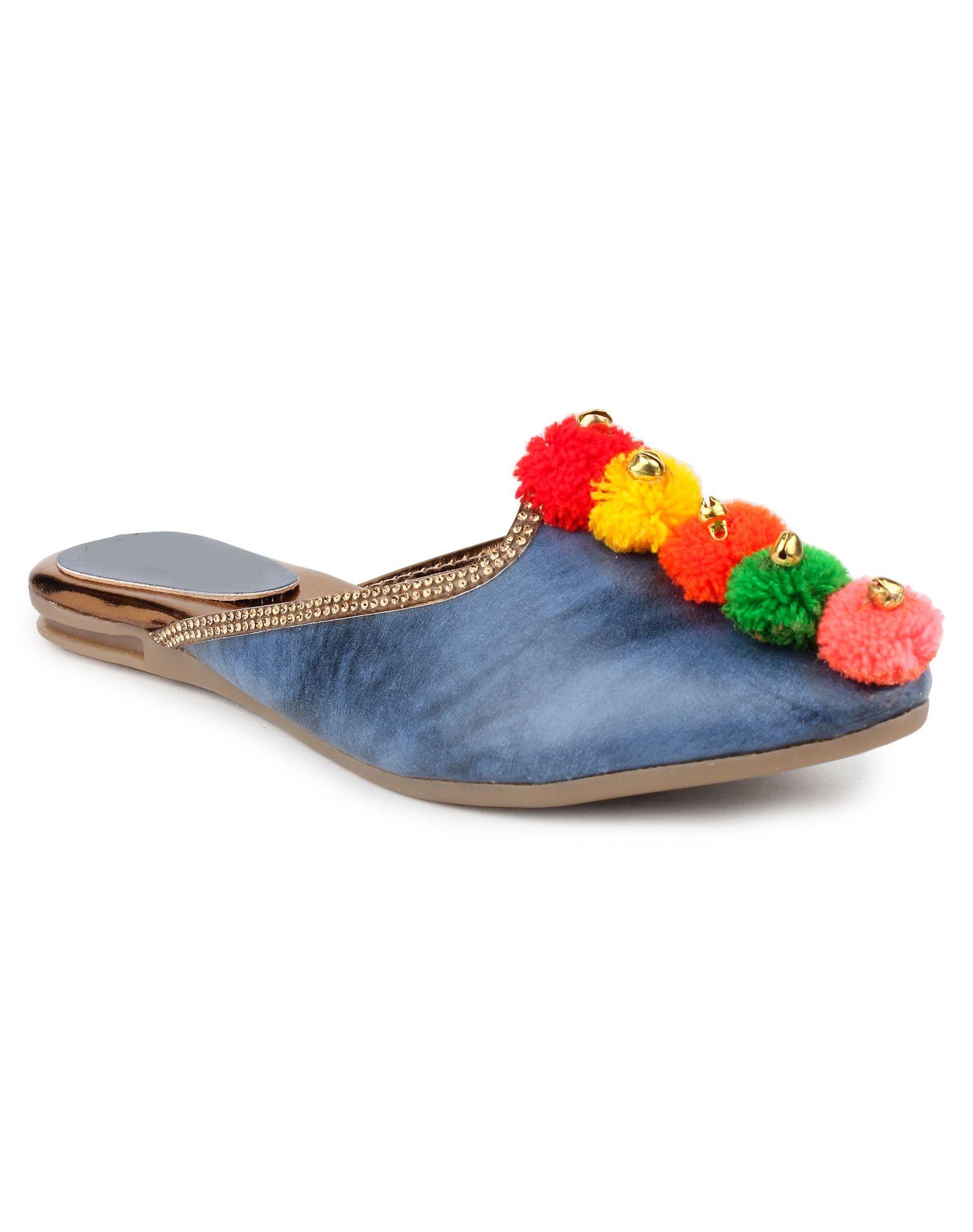 862ab8bce Do Bhai Blue Flat Flats Price in India- Buy Do Bhai Blue Flat Flats Online  at Snapdeal