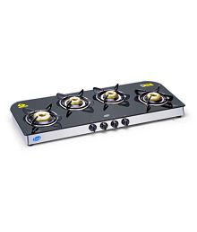 Glen GL 1049 GT Forged BB AI 4 Burner Auto Gas Stove