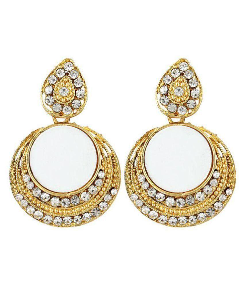 Jewels Gehna Multicolour Chandeliers Earring