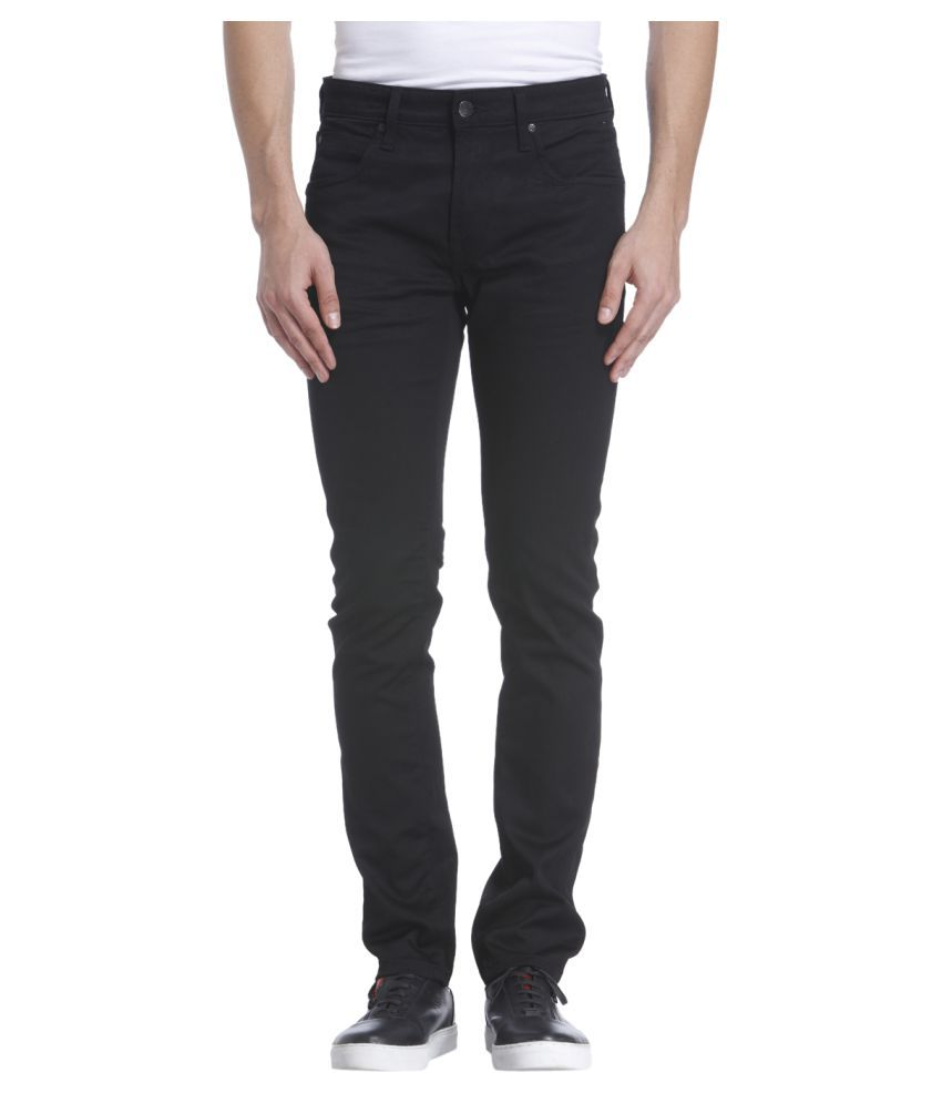Jack & Jones Black Skinny Jeans