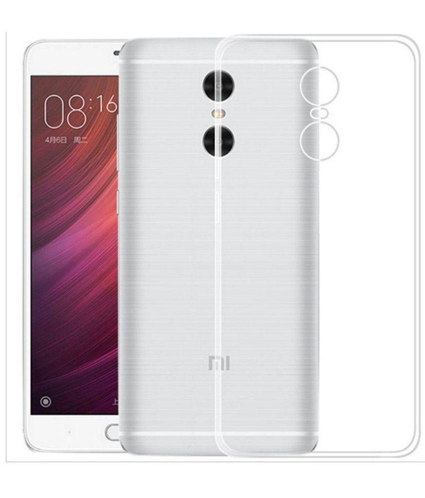 Xiaomi Redmi Note 4 Soft Silicon Cases Wow Imagine   Transparent