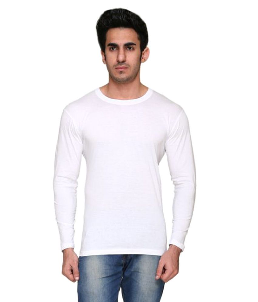 Colors & Blends White Round T-Shirt