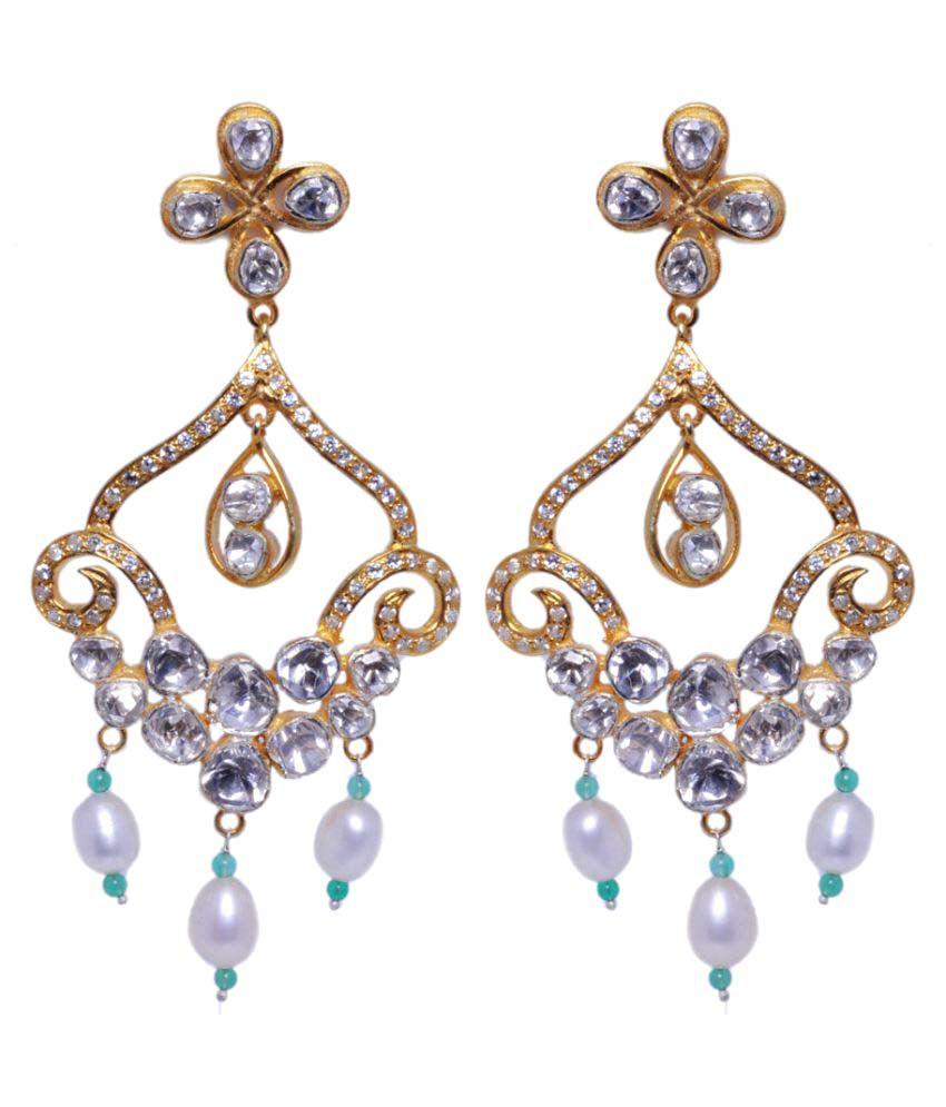 Gehna 92.5 Silver Sapphire Hangings