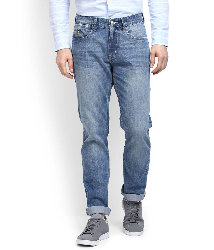 U.S. Polo Assn. Blue Regular Fit Jeans