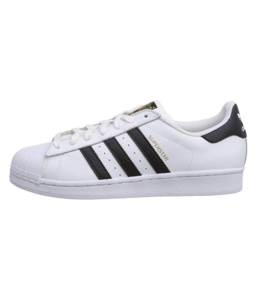 reasonable price pretty cool exclusive range Adidas Superstar White Running Shoes
