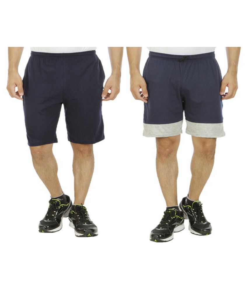 Hardys Collection Navy Shorts Pack of 2